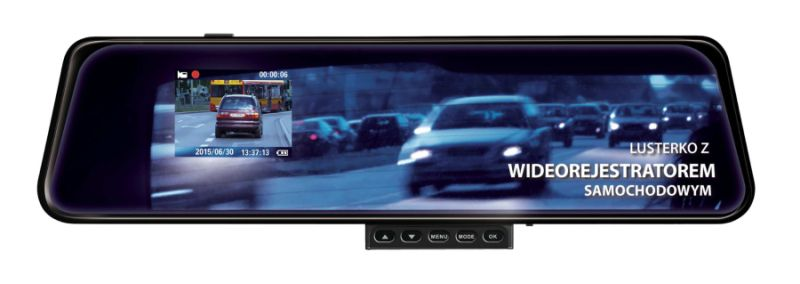 Wideorejestrator samochodowy DVR-1001