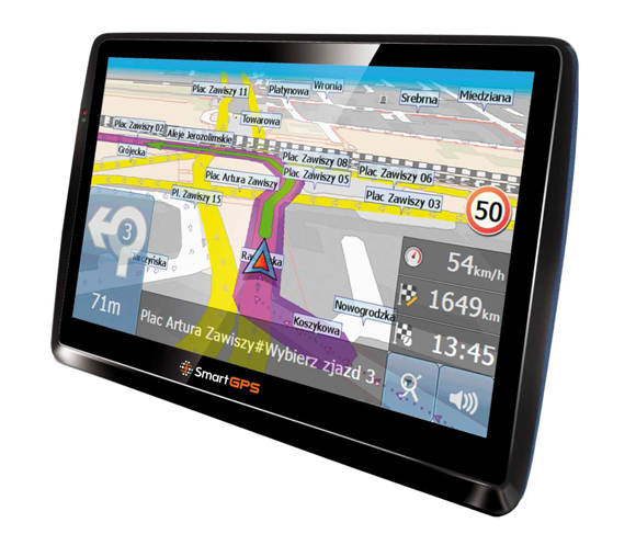 Nawigacja samochodowa SmartGPS SG775 OSM EU